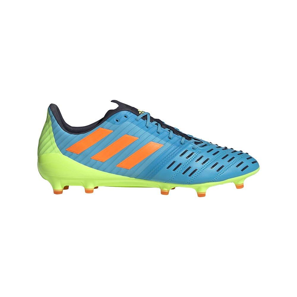 Adidas Chaussures Rugby Predator Malice Control Fg EU 39 1/3 Signal Cyan / Signal Orange / Signal Green