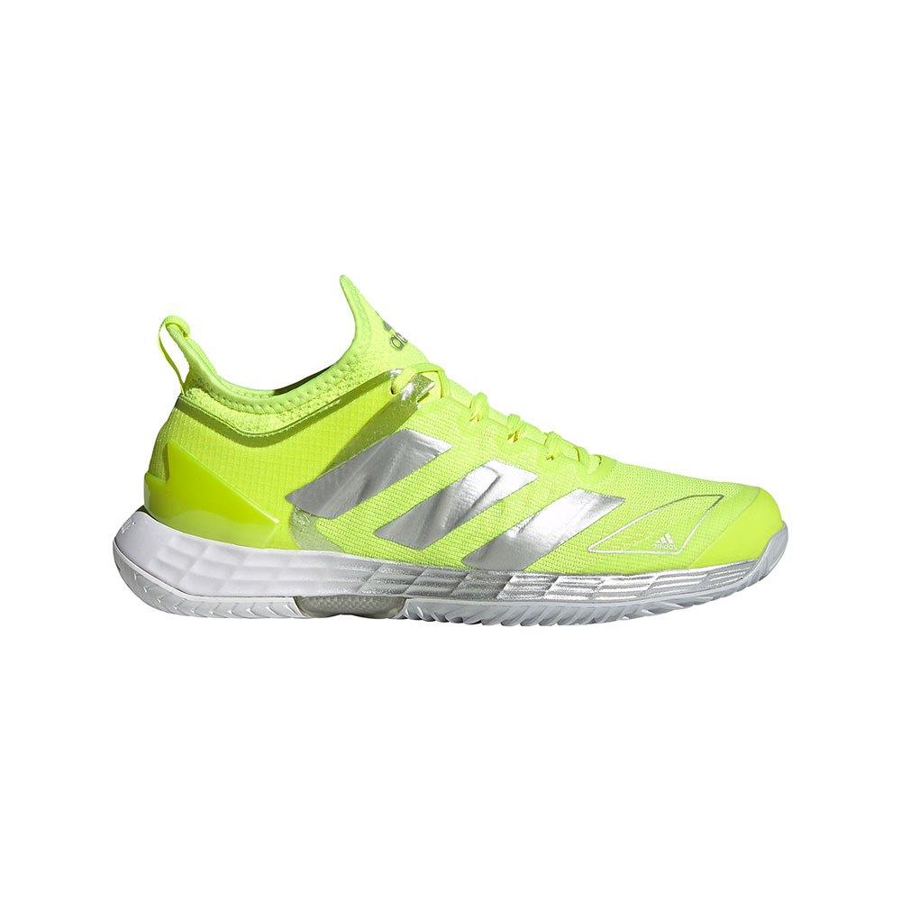 Adidas Adizero Ubersonic 4 EU 42 2/3 Solar Yellow / Silver Met. / Halo Blue