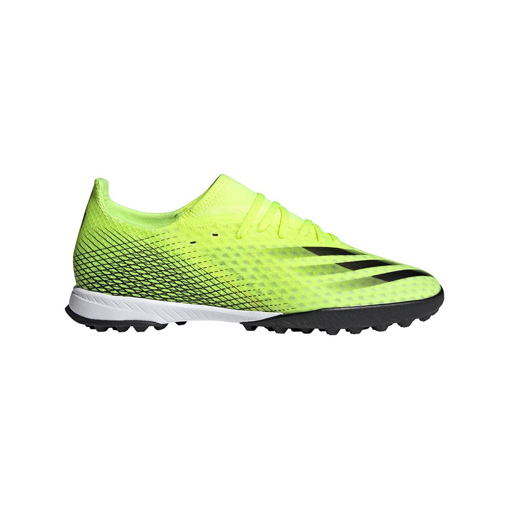 Adidas Chaussures Football X Ghosted .3 Tf EU 42 Solar Yellow / Core Black / Team Royal Blue
