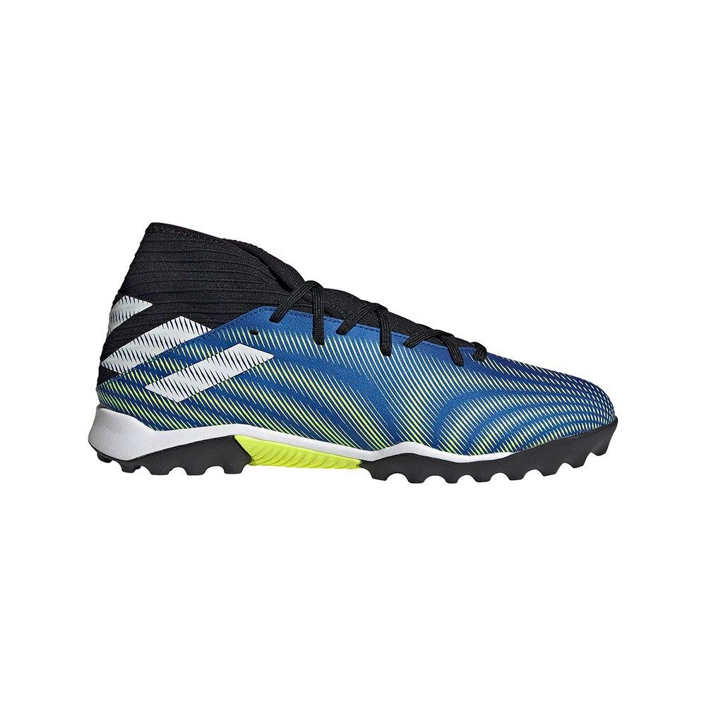 Adidas Chaussures Football Nemeziz .3 Tf EU 46 Team Royal Blue / Ftwr White / Solar Yellow