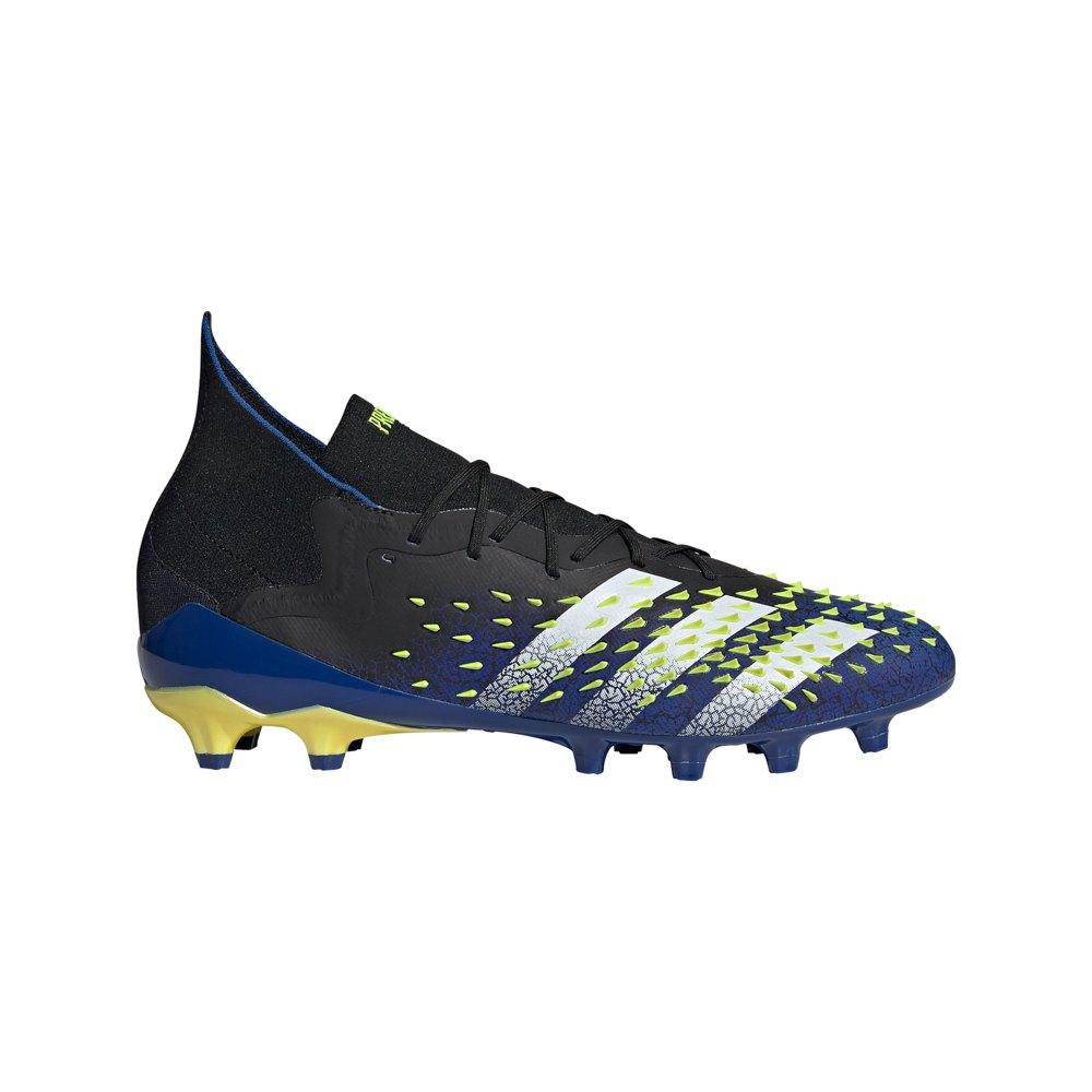 Adidas Predator Freak .1 Ag Football Boots EU 42 Core Black / Ftwr White / Solar Yellow