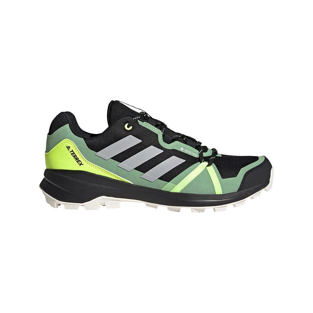 Adidas Chaussures Randonnée Terrex Skyhiker Goretex EU 48 Core Black / Grey Two / Solar Yellow