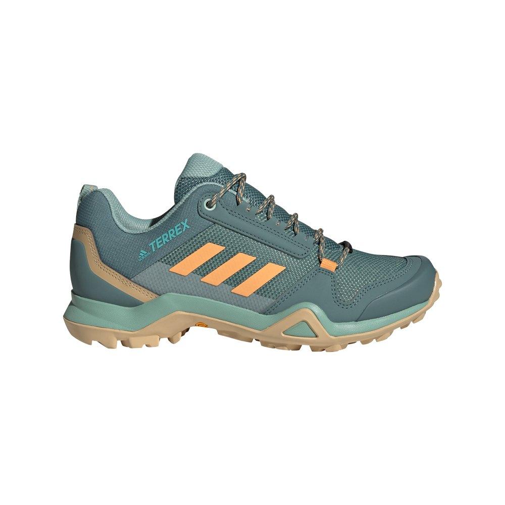 Adidas Zapatillas Senderismo Terrex Ax3 Hazy Emerald / Hazy Orange / Wild Teal