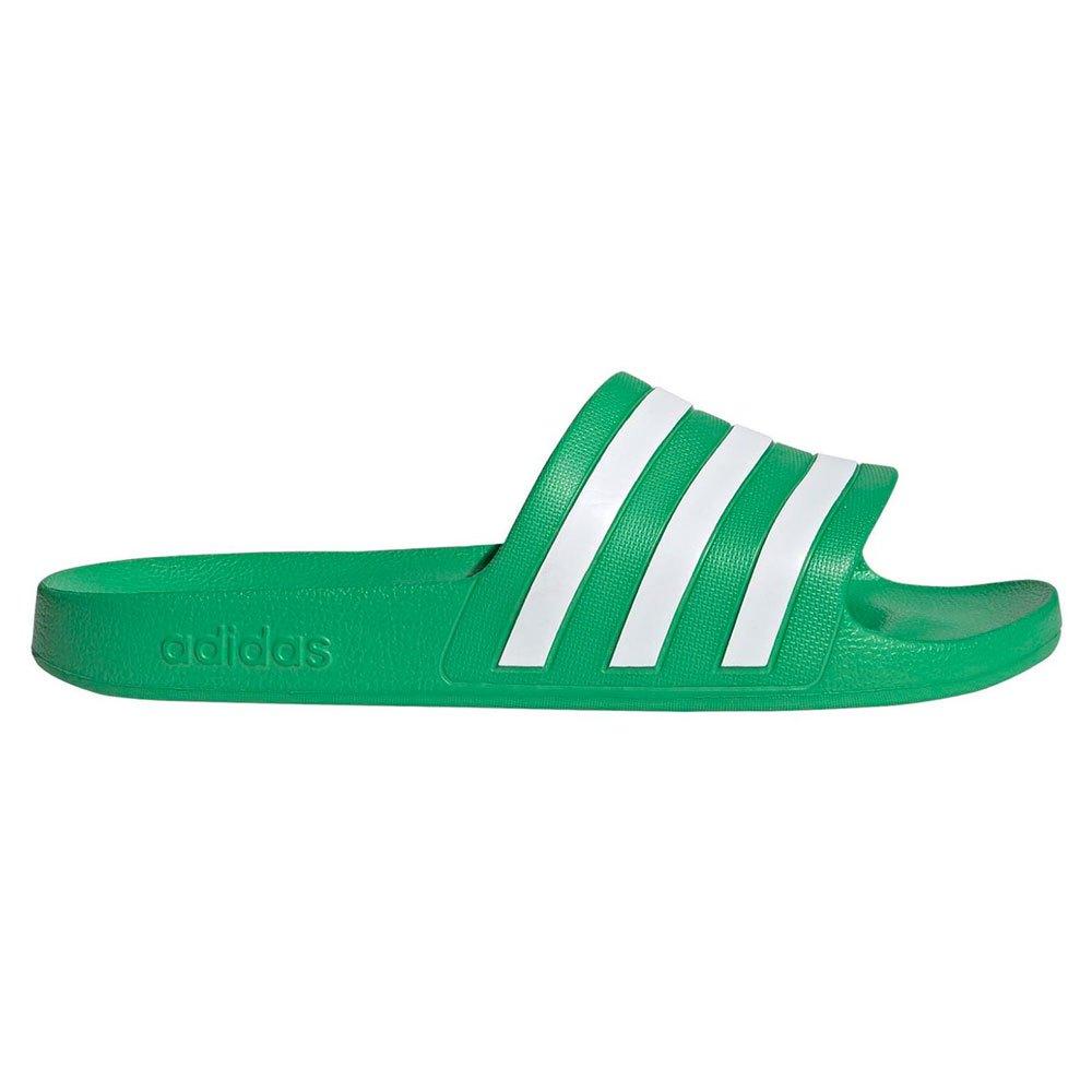 Adidas Adilette Aqua EU 39 1/3 Vivid Green / Ftwr White / Vivid Green