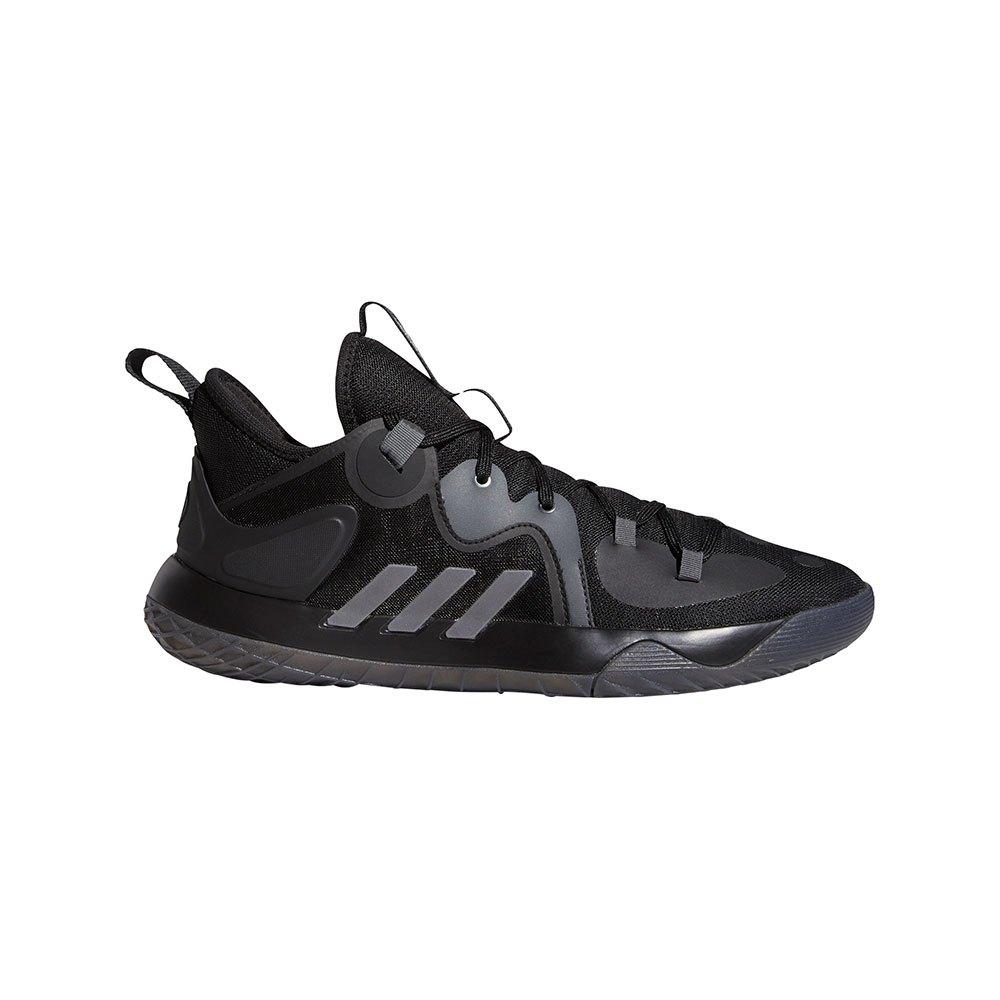 Adidas Harden Stepback 2 EU 38 2/3 Core Black / Iron Met. / Grey Six