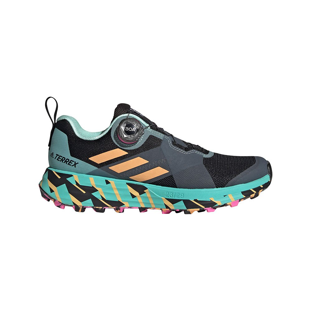 Adidas Terrex Two Boa EU 40 Core Black / Hazy Orange / Screaming Pink