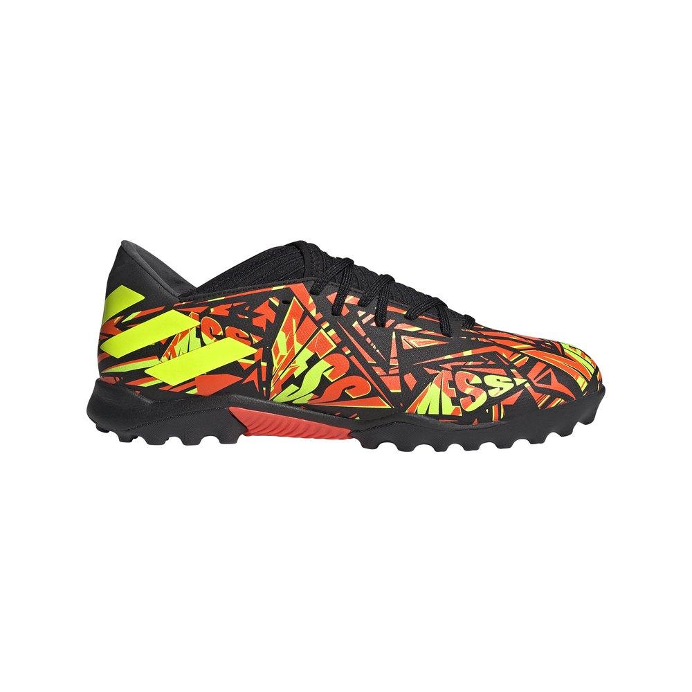 Adidas Chaussures Football Nemeziz Messi .3 Tf EU 45 1/3 Solar Red / Solar Yellow / Core Black