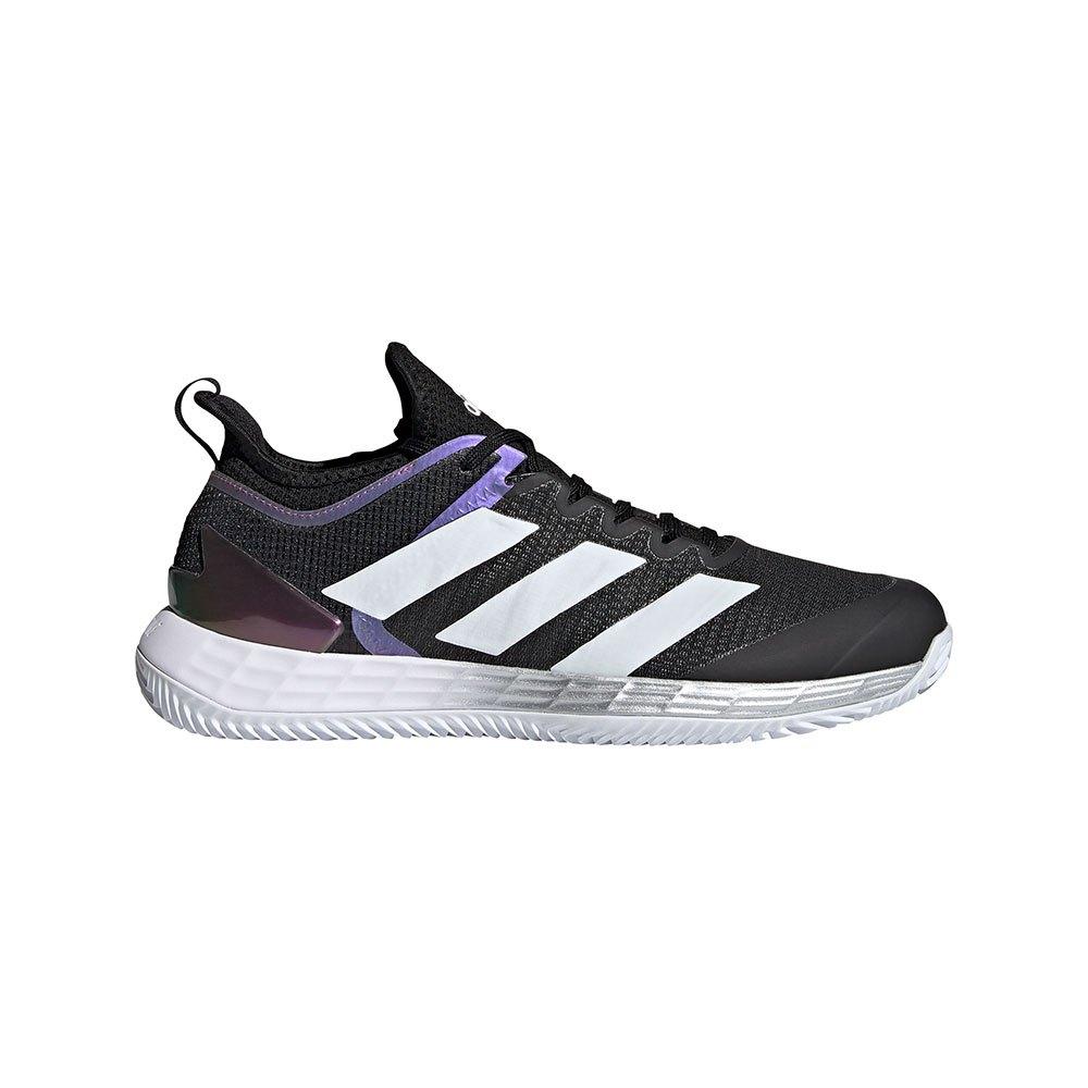 Adidas Adizero Ubersonic 4 Clay EU 41 1/3 Core Black / Ftwr White / Silver Met.