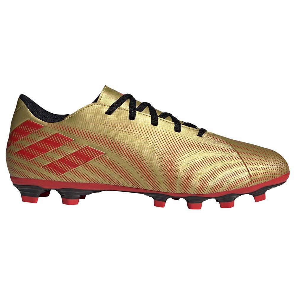Adidas Nemeziz Messi .4 Fxg EU 45 1/3 Gold Met. / Scarlet / Core Black