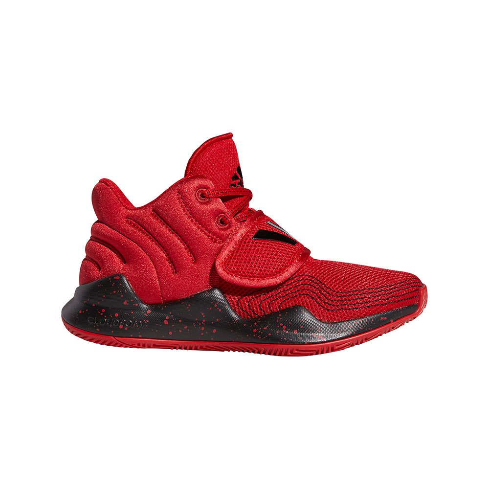 Adidas Deep Threat J EU 36 Scarlet / Core Black / Scarlet