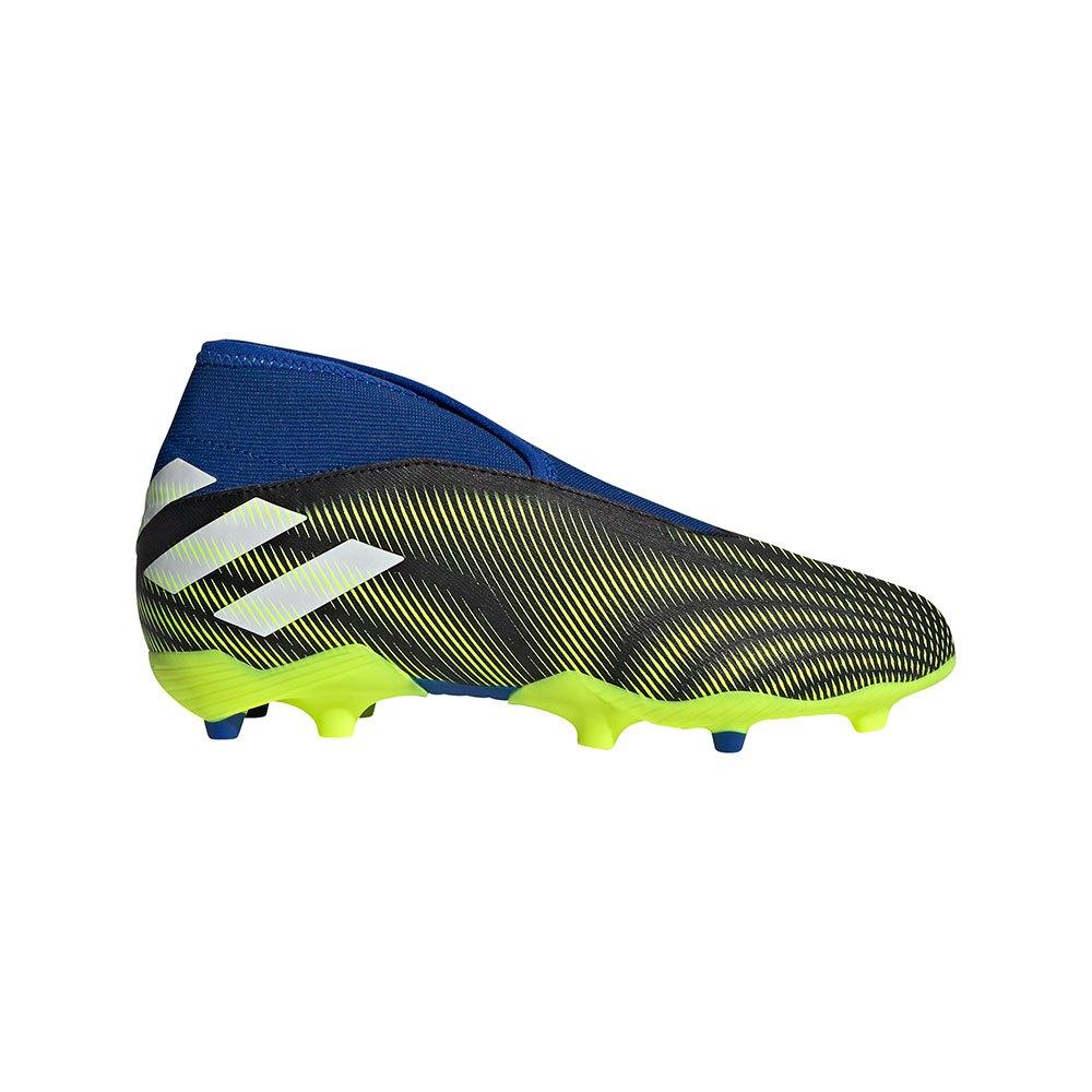 Adidas Nemeziz .3 Ll Fg J EU 36 Core Black / Ftwr White / Solar Yellow
