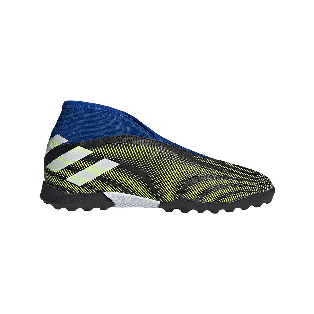 Adidas Chaussures Football Nemeziz .3 Ll Tf J EU 38 Core Black / Ftwr White / Solar Yellow