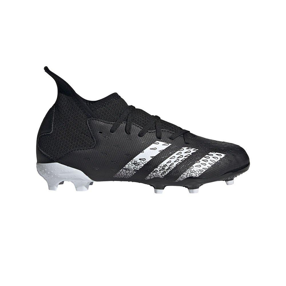 Adidas Chaussures Football Predator Freak .3 Fg EU 38 Core Black / Ftwr White / Core Black
