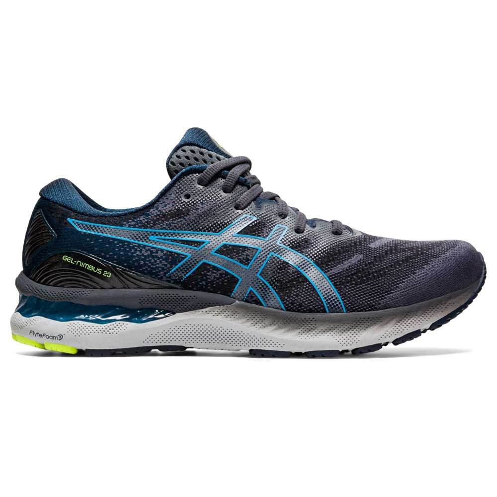 Asics Gel Nimbus 23 EU 44 Carrier Grey / Digital Aqua