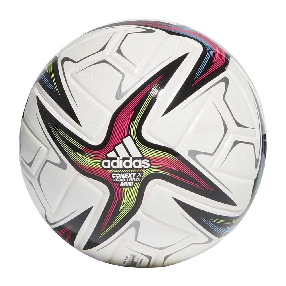 Adidas Conext 21 Mini Football Ball 1 White / Black / Shock Pink / Signal Green