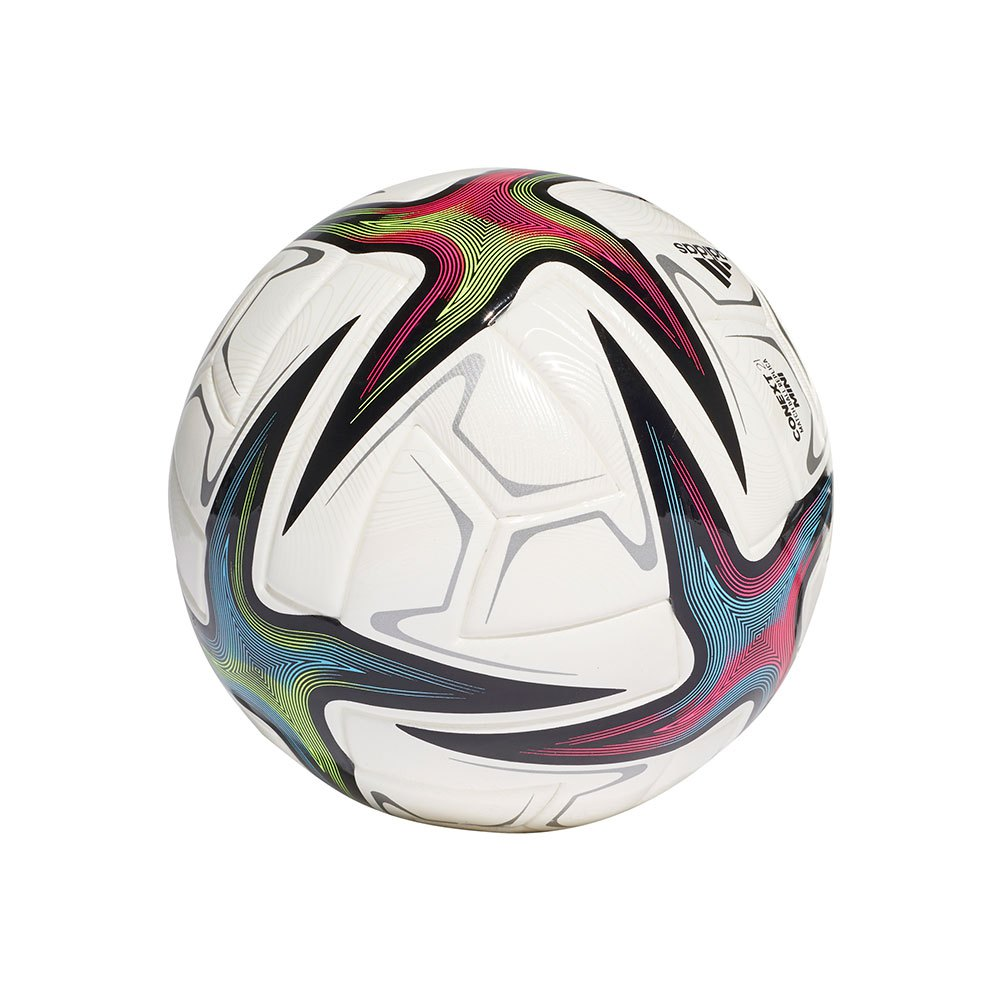 Adidas Ekstraklasa Mini Football Ball 1 White / Black / Shock Pink / Signal Green