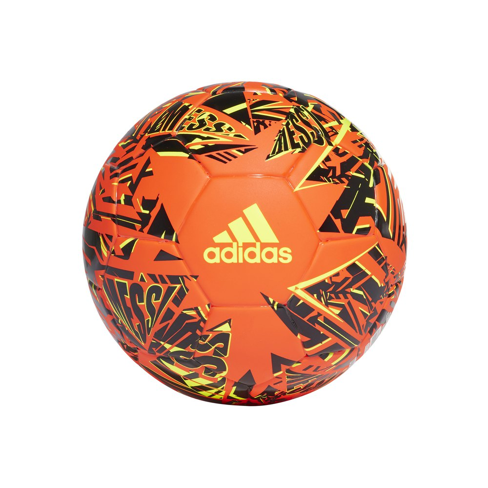 Adidas Messi Mini Football Ball 1 Solar Red / Black / Solar Yellow