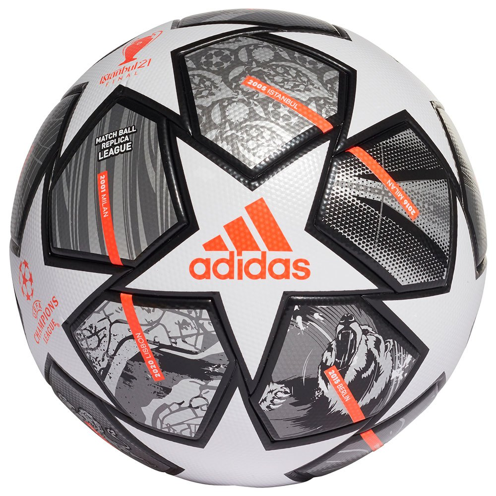 Adidas Finale 21 20th Anniversary Ucl League 5 White / Iron Met. / Silver Met.
