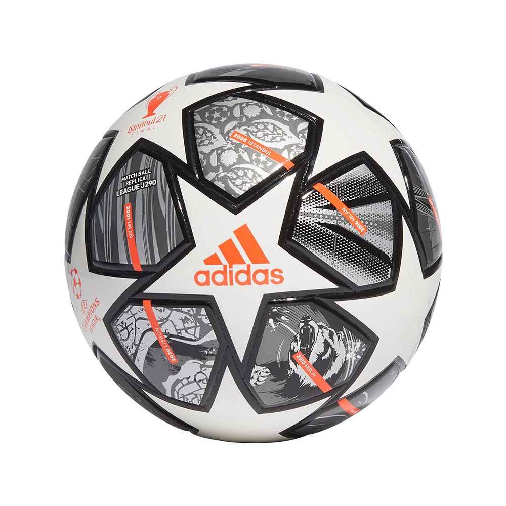 Adidas Finale 21 20th Anniversary Ucl 290 League 5 White / Iron Met. / Silver Met.