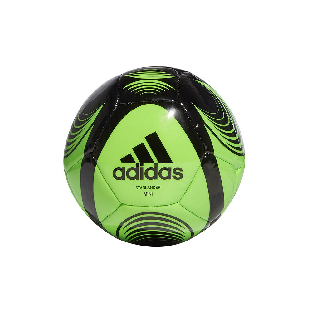 Adidas Starlancer Mini Football Ball 0 Solar Green / Black