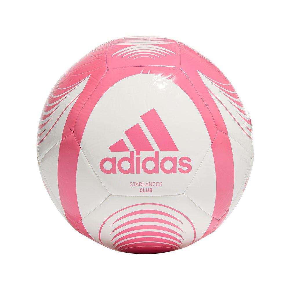 Adidas Ballon Football Starlancer Club 5 White / Solar Pink
