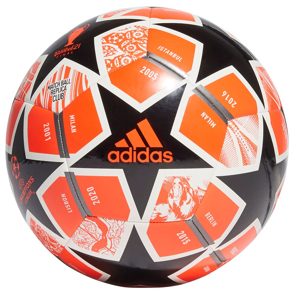 Adidas Finale 21 20th Anniversay Ucl Club 5 Solar Red / Black / White / Iron Met.