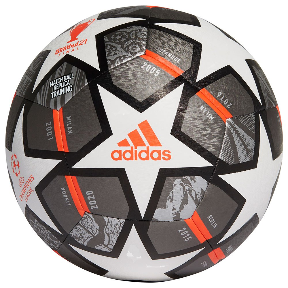 Adidas Finale 21 20th Anniversary Ucl Textured Training 5 White / Iron Met. / Silver Met.
