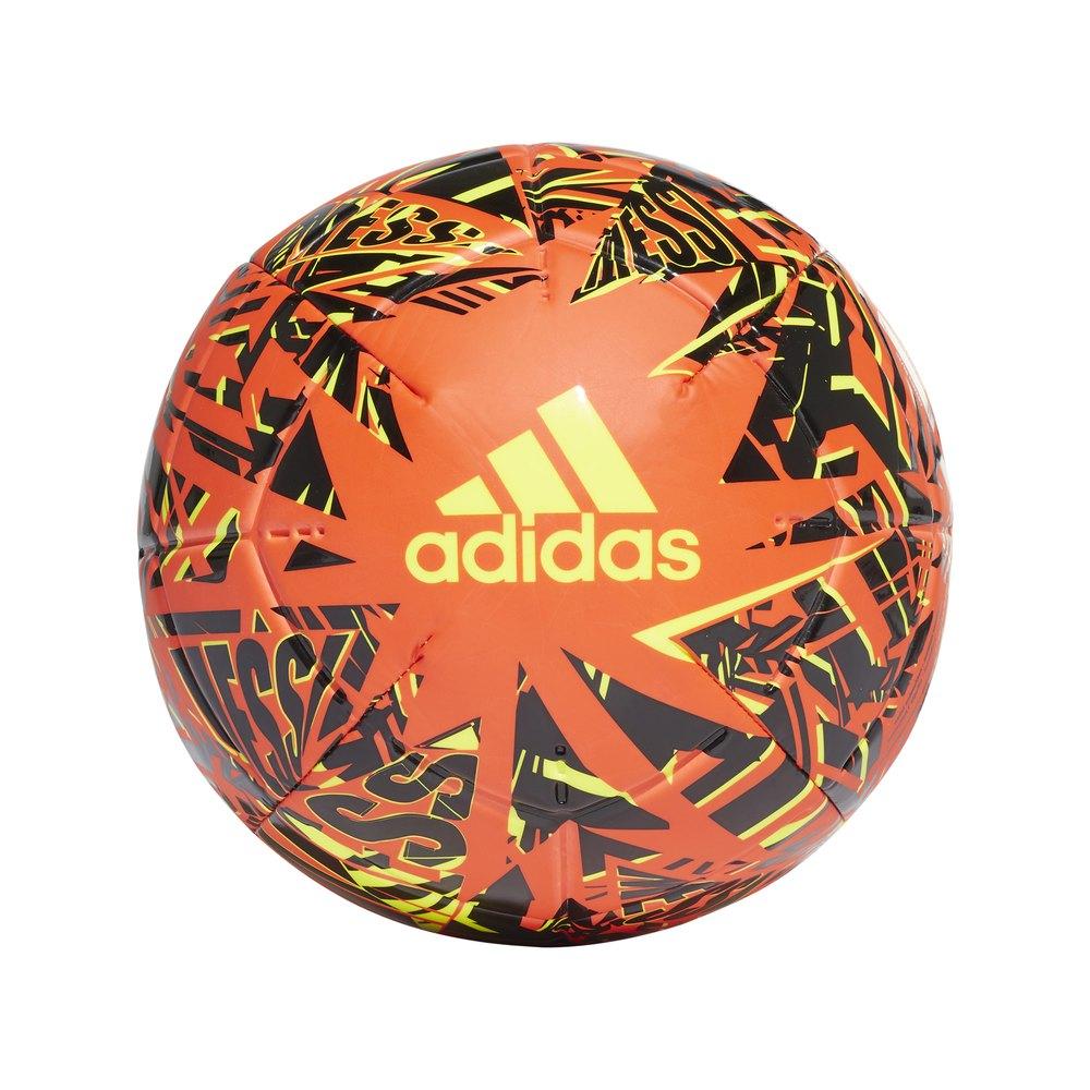 Adidas Messi Club 3 Solar Red / Black / Solar Yellow