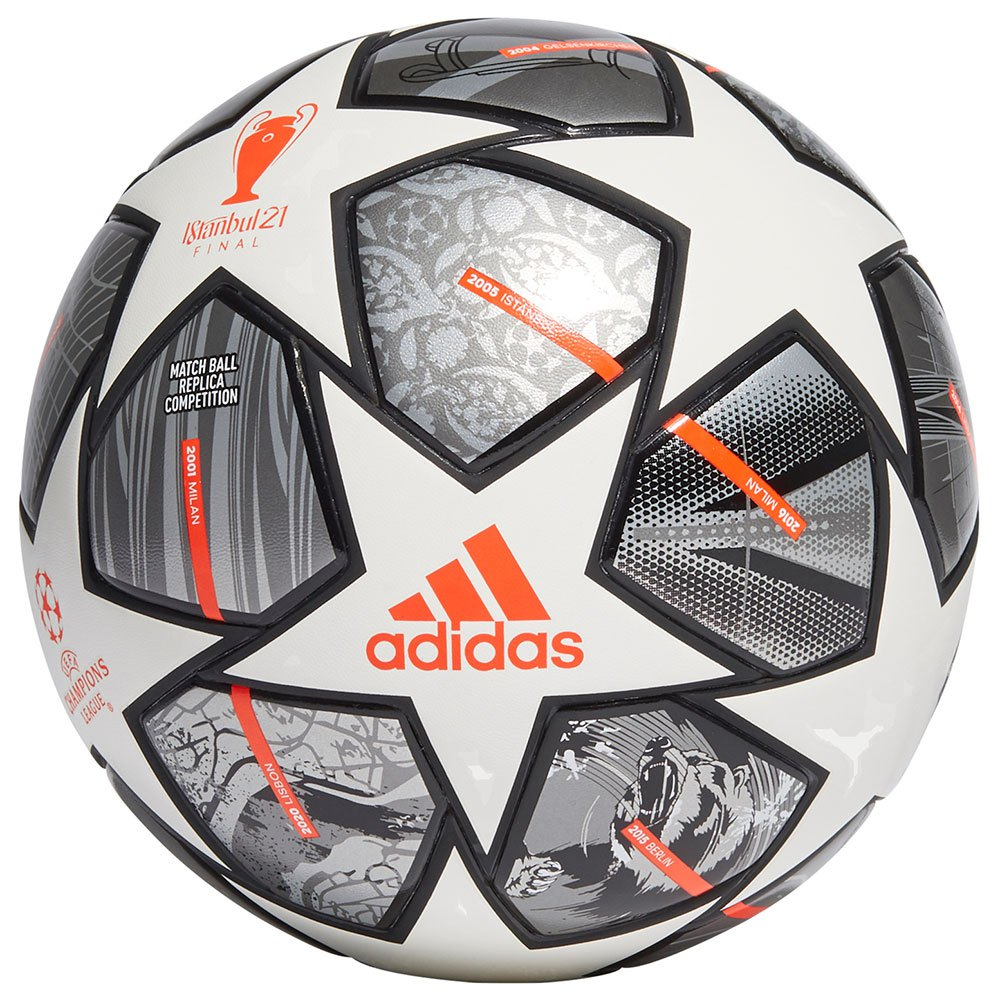 Adidas Finale 21 20th Anniversay Ucl Competition 5 White / Iron Met. / Silver Met.