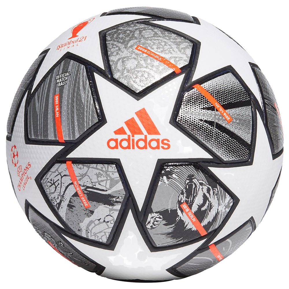Adidas Finale 21 20th Anniversary Ucl Pro 5 White / Iron Met. / Silver Met.