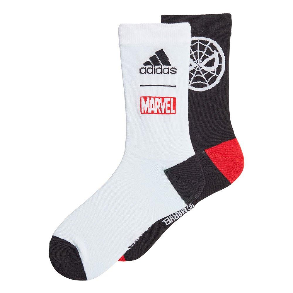 Adidas Chaussettes Marvel Spider-man EU 43-45 Black / White / Vivid Red