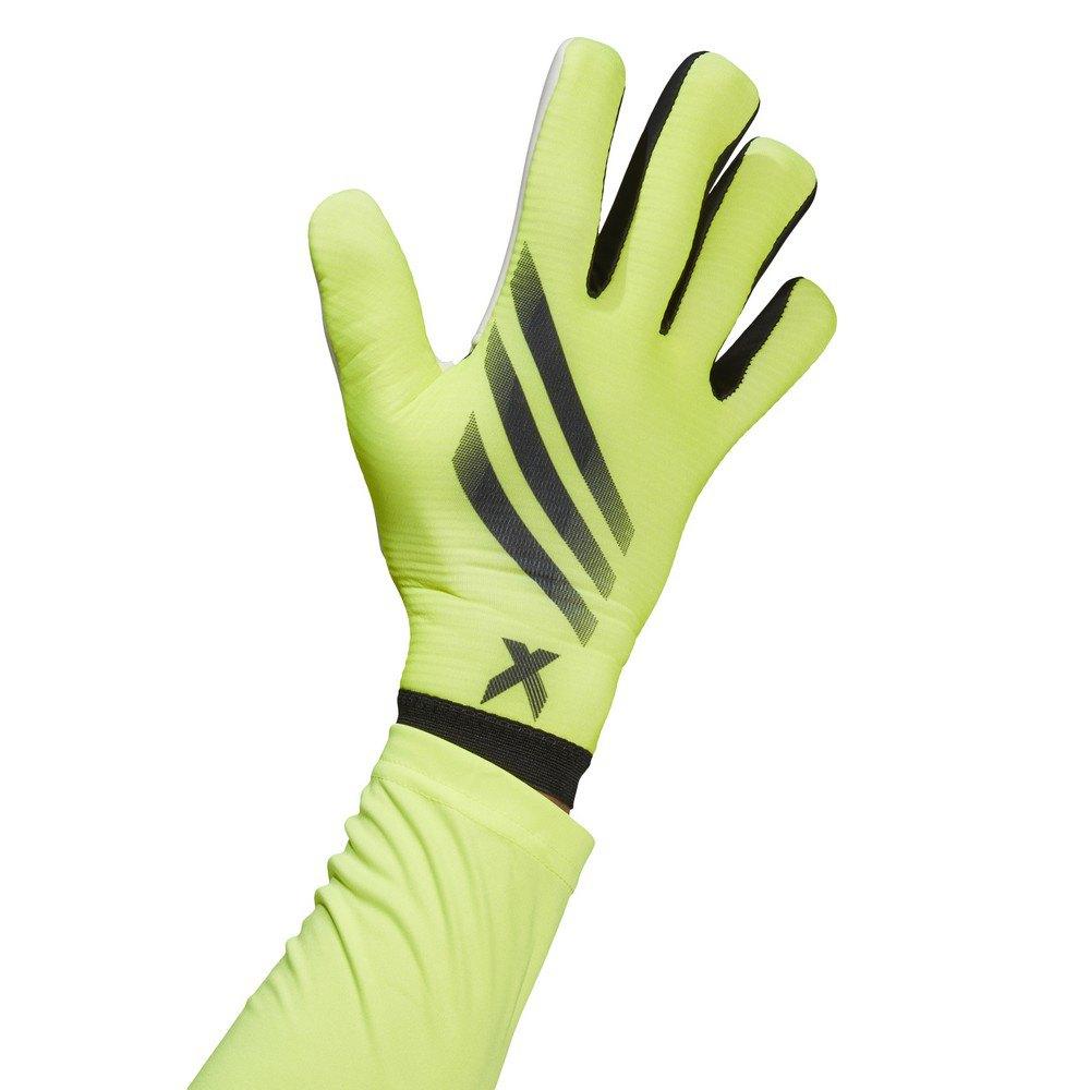 Adidas X Training Goalkeeper Gloves 10 Solar Yellow / Black / Black