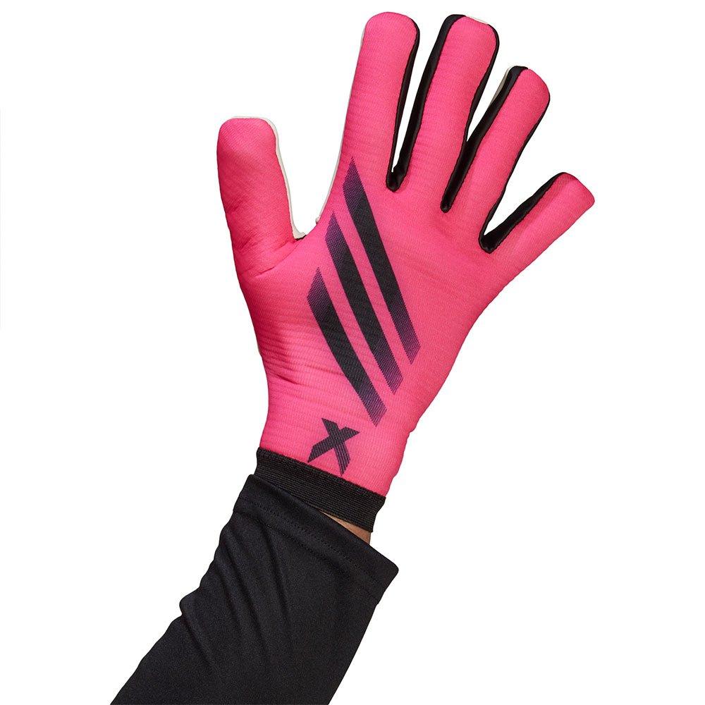 Adidas X Training Goalkeeper Gloves 10 Shock Pink / Black / Black