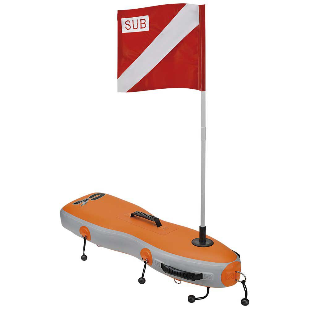 C4 Open Sea 29 Orange Grey Tauchbojen Open Sea 29