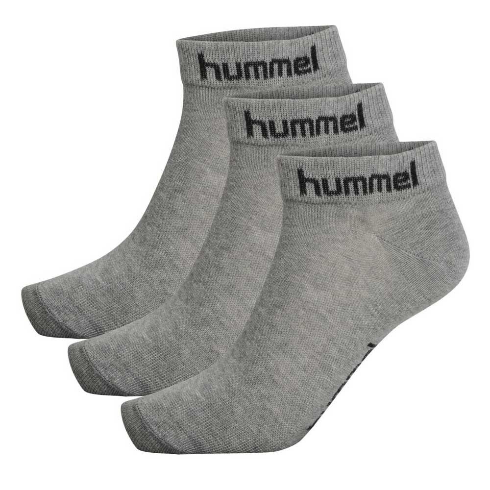 Hummel Chaussettes Torno 3 Paires EU 24-27 Grey Melange