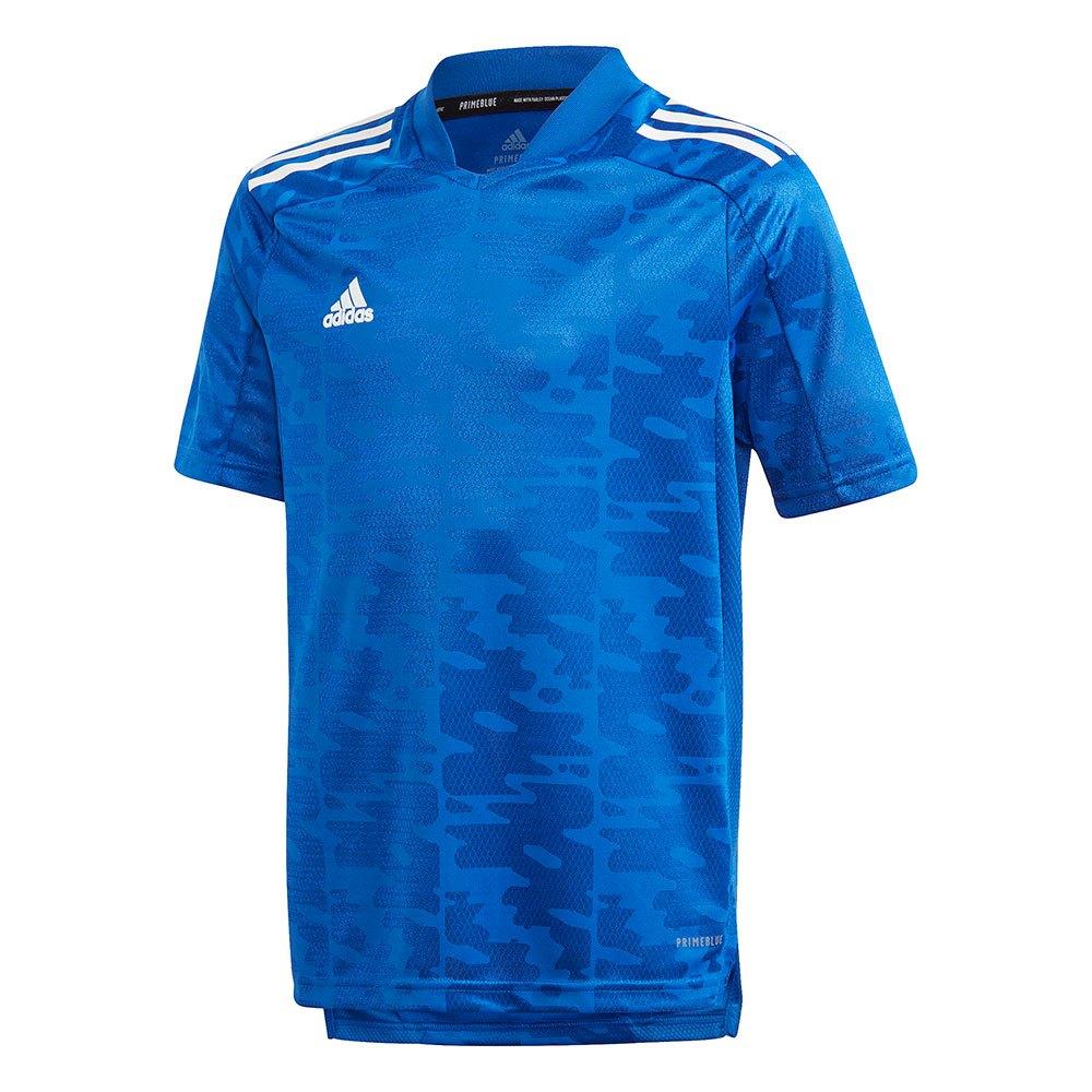 Adidas T-shirt Manche Courte Condivo 21 Primeblue 152 cm Team Royal Blue / White