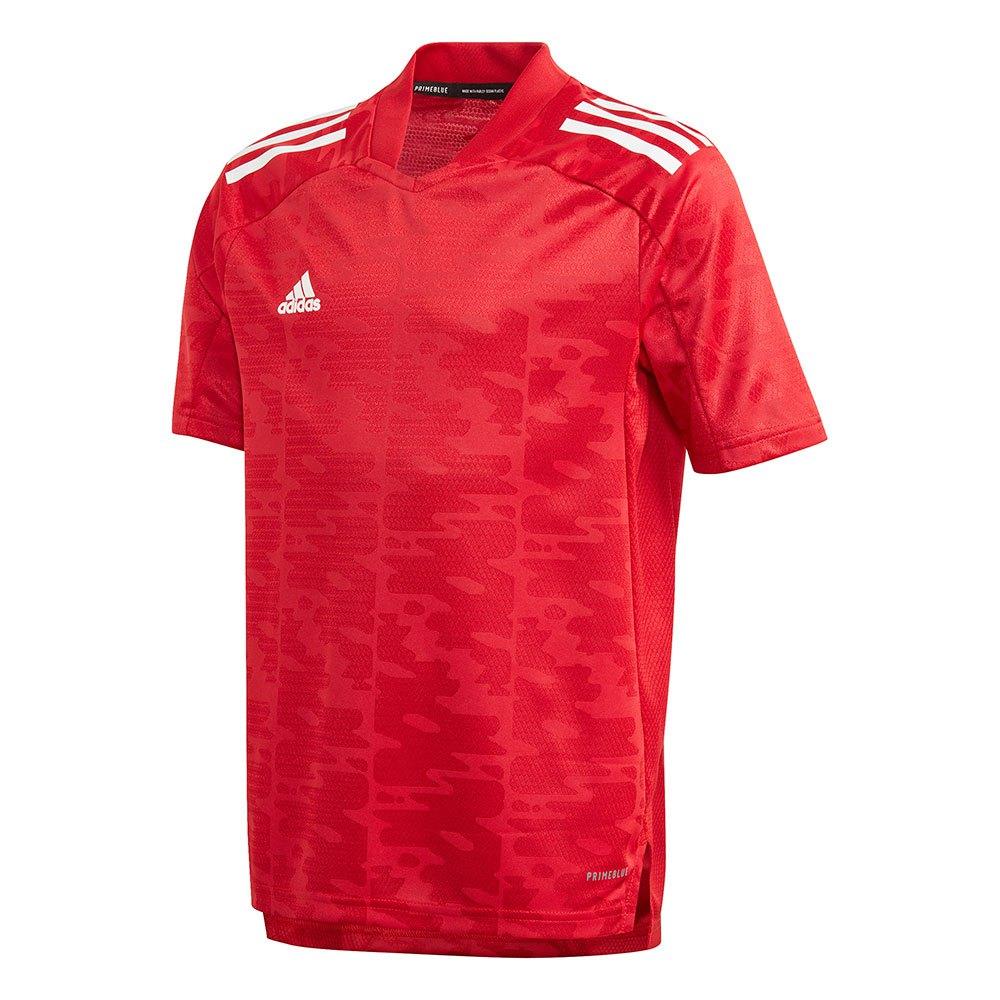 Adidas T-shirt Manche Courte Condivo 21 Primeblue 152 cm Team Power Red / White