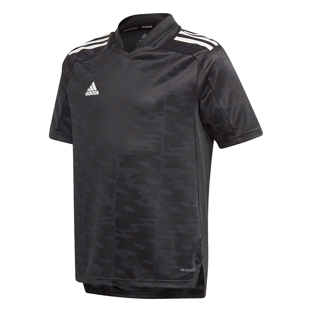 Adidas T-shirt Manche Courte Condivo 21 Primeblue 152 cm Black / White
