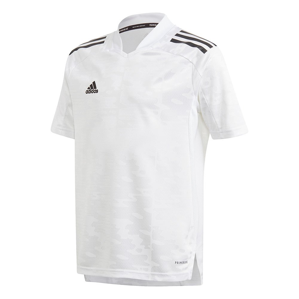 Adidas T-shirt Manche Courte Condivo 21 Primeblue 128 cm White / Black