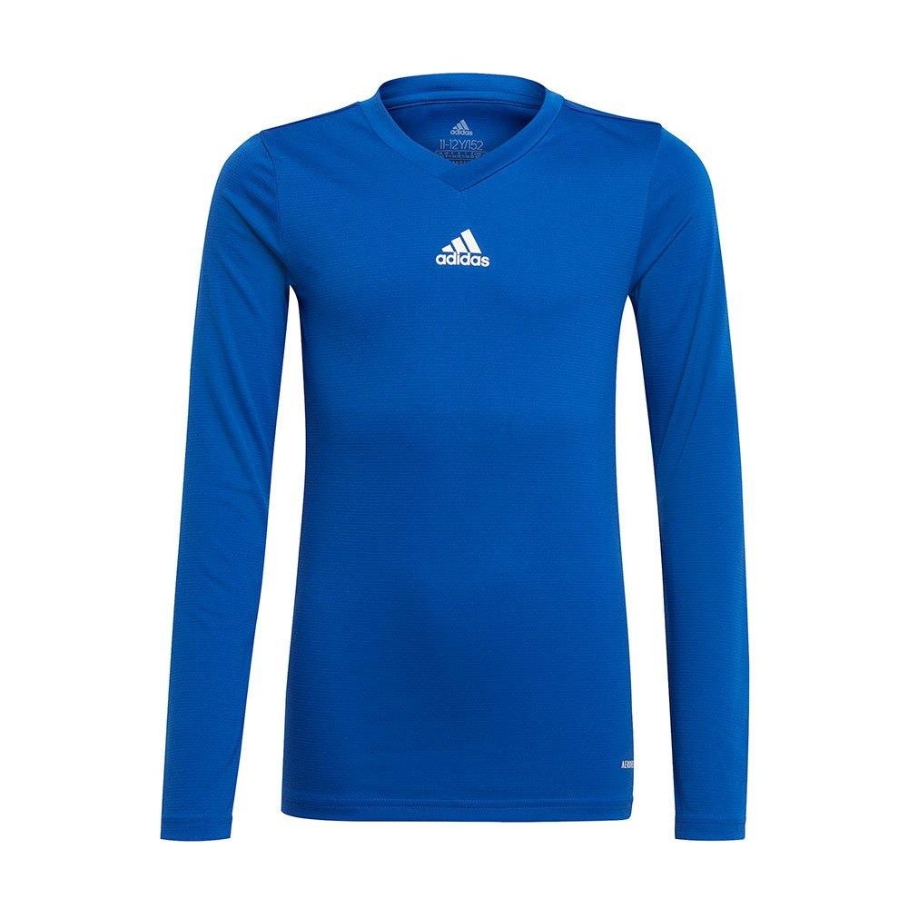 Adidas Team Base T-shirt Manche Longue 140 cm Team Royal Blue