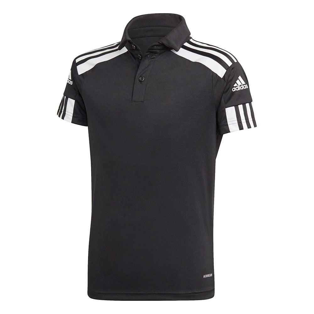 Adidas Polo Manche Courte Squadra 21 128 cm Black / White