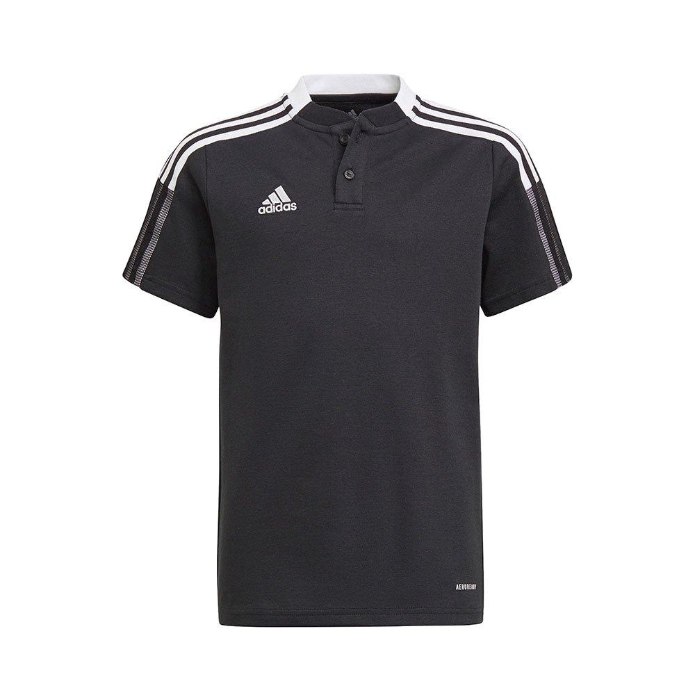 Adidas Polo Manche Courte Tiro 21 176 cm Black