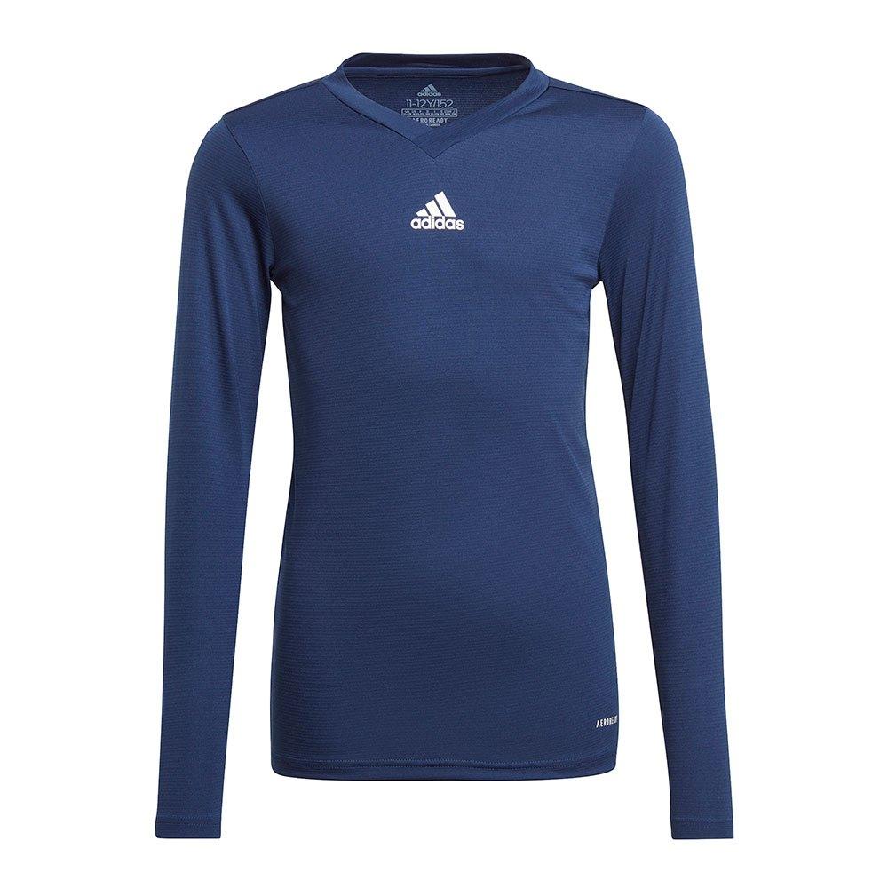 Adidas Team Base T-shirt Manche Longue 164 cm Team Navy Blue