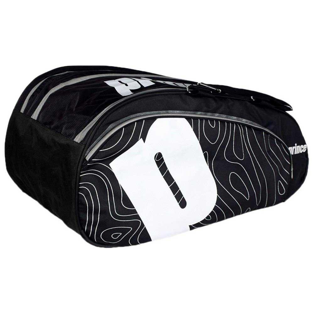 Prince Sac Raquette Padel Premium One Size Black / White