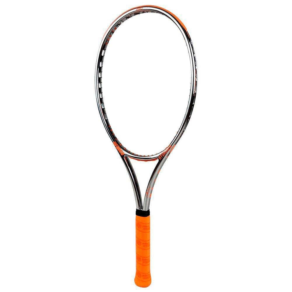 Prince Raquette Tennis Chrome 100 300g 2 Silver / Orange