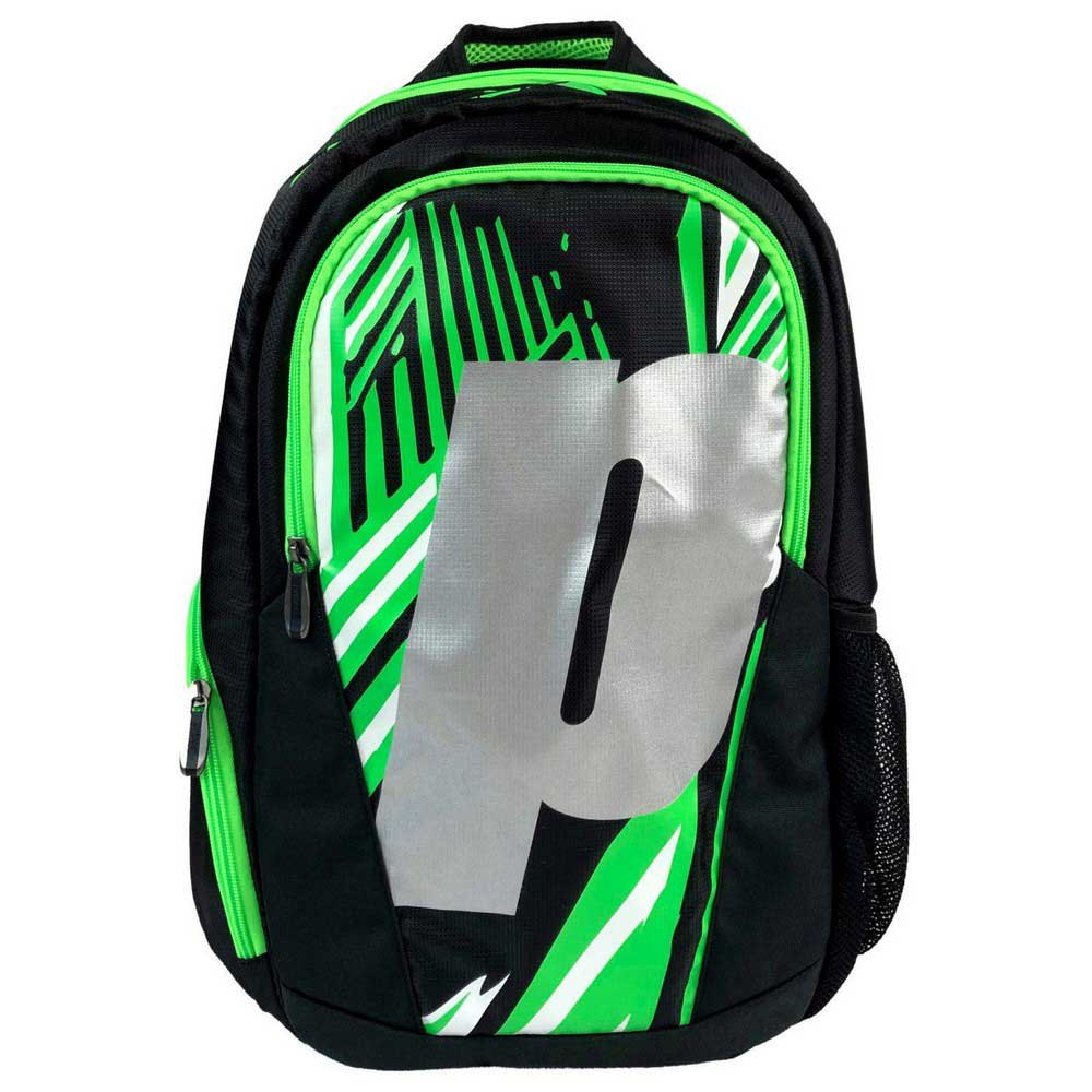 Prince Backpack One Size Black / Green / Silver