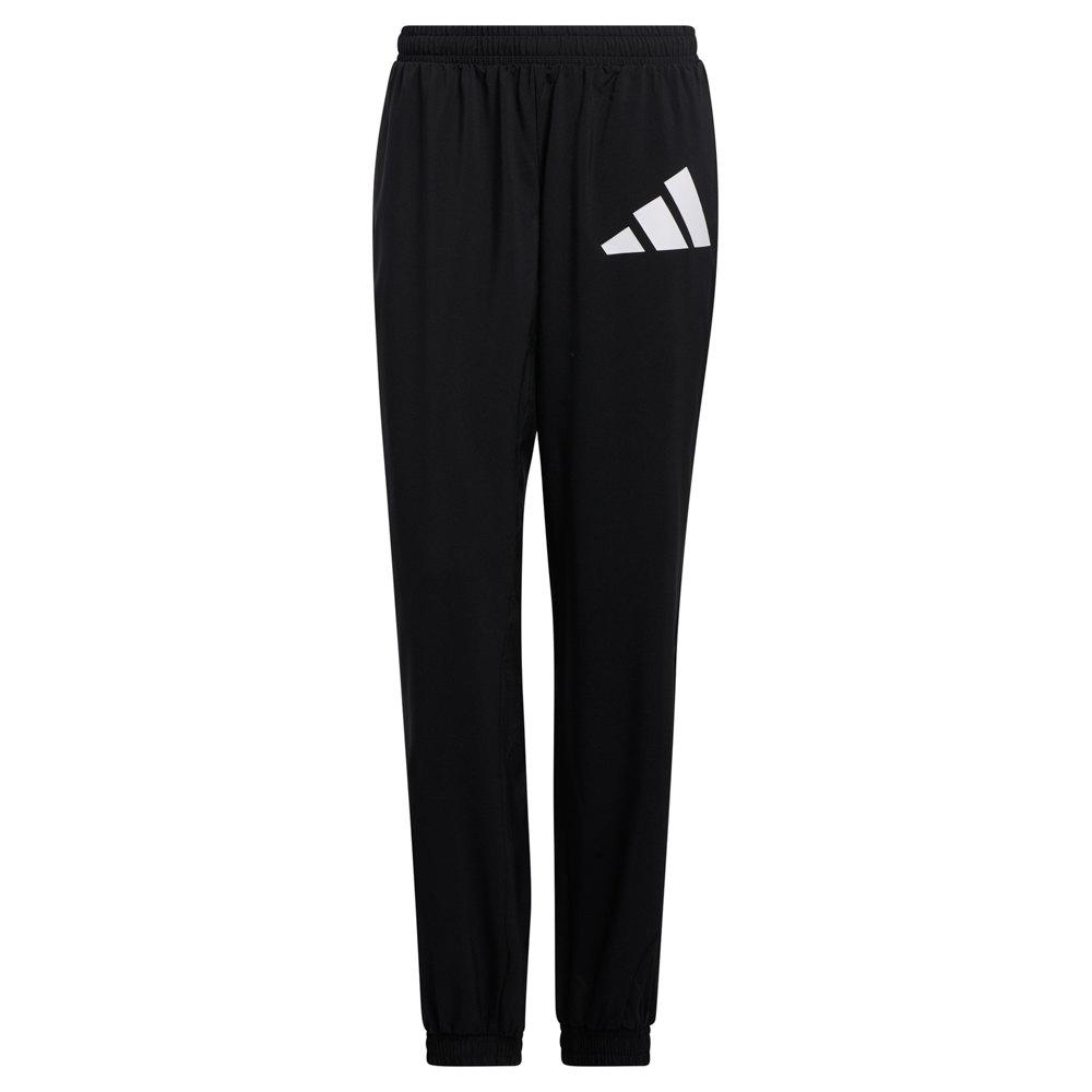 Adidas 3 Bar Logo Warm-up Sports XS Black / White