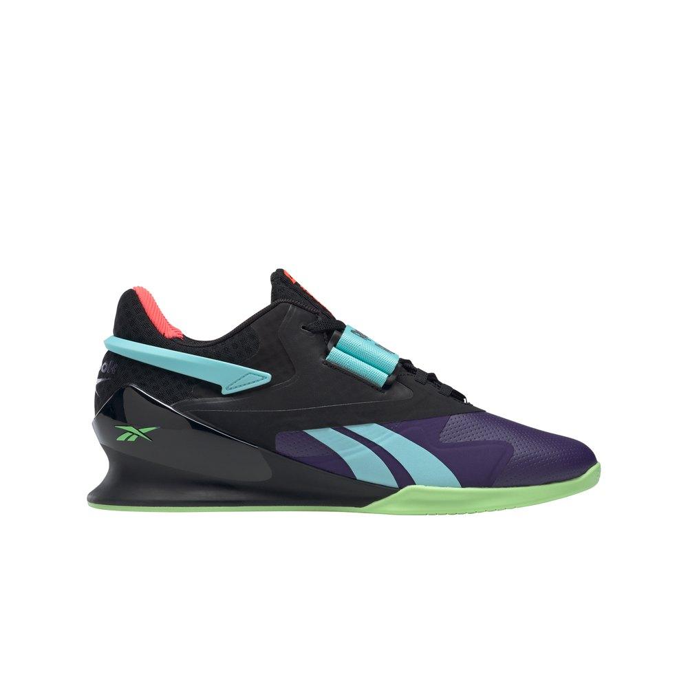 Reebok Chaussures Legacy Lifter Ii EU 45 Dark Orchid / Core Black / Neon Mint