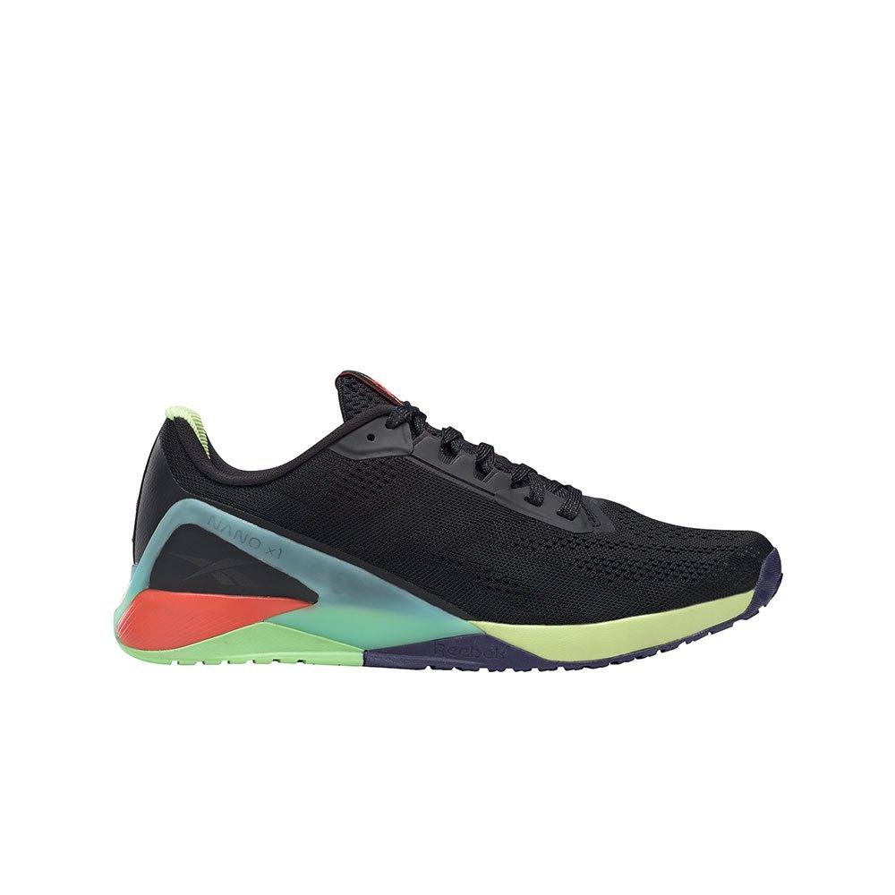 Reebok Chaussures Nano X1 EU 42 Black / Night Black / Digital Glow