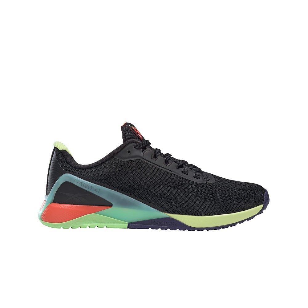 Reebok Chaussures Nano X1 EU 40 1/2 Black / Night Black / Digital Glow